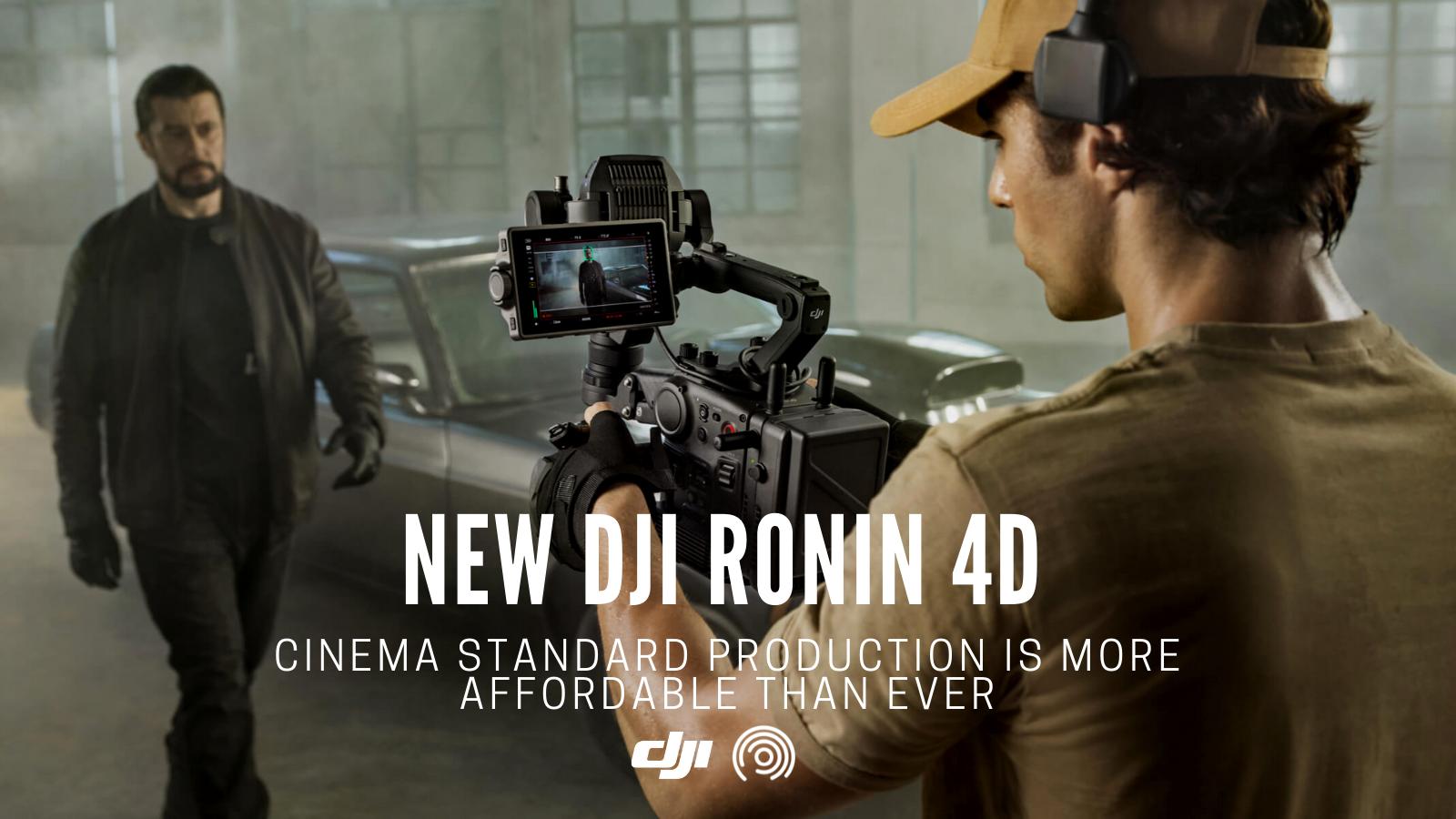 Ambitious New DJI Ronin 4D Cinema Camera Combo