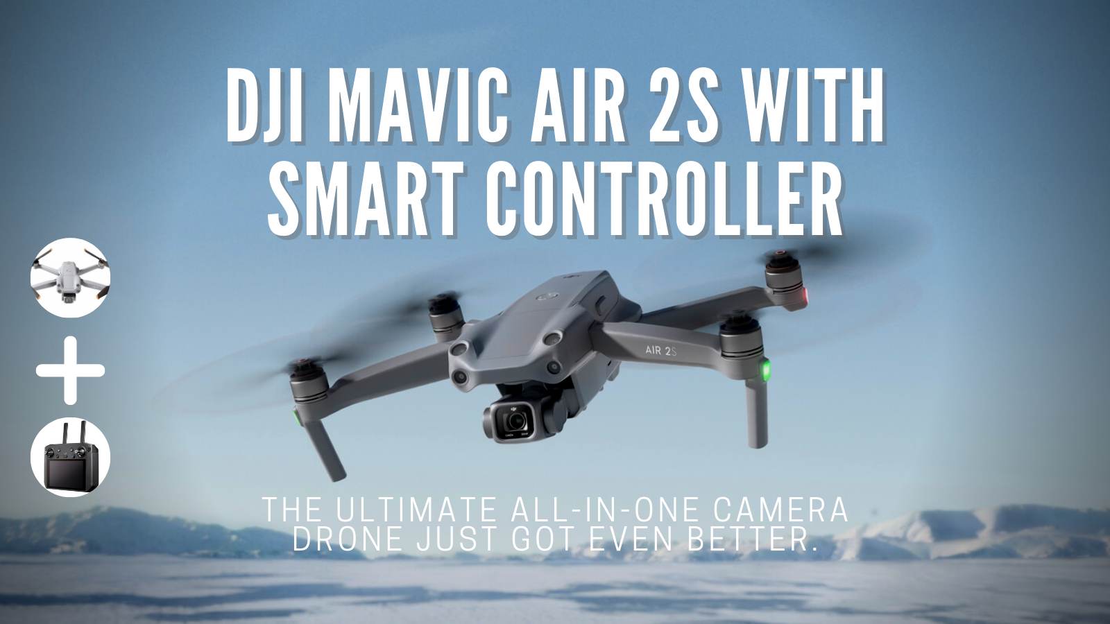 NEW DJI BUNDLE Air 2S Fly More Combo With Smart Controller