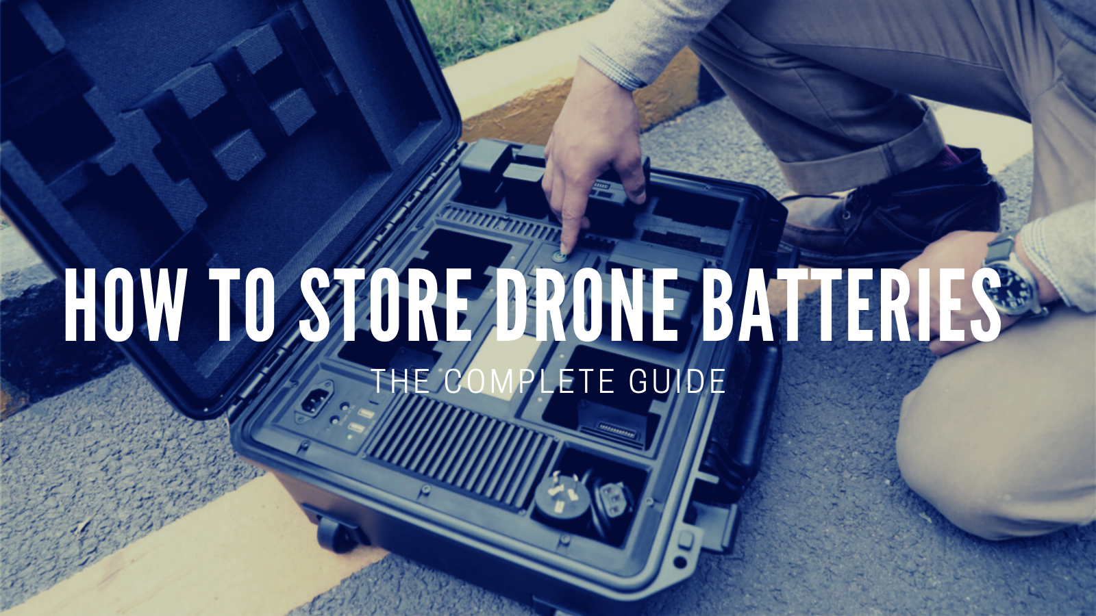 How To Store Drone Batteries